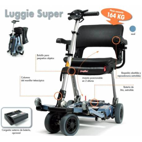 Scooter Luggie Plegable ESTANDAR