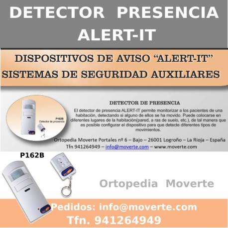 Detector de presencia por movimiento -  ALERT-IT