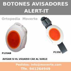 Botones avisadores para cuidado de pacientes.