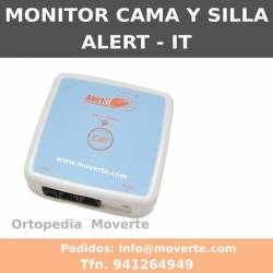 Monitor para sensores de cama y silla- Alert-It