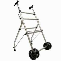 Andador de aluminio sin asiento