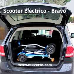 Scooter eléctrico plegable automático