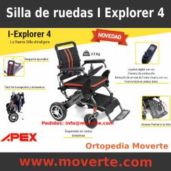 Silla de ruedas eléctrica ultraligera plegable IExplorer 4