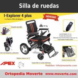 Silla de ruedas eléctrica Obesos I-Explorer 4 plus