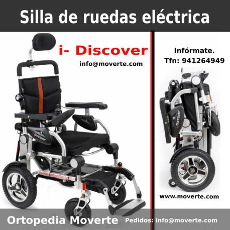 sillas electricas plegables dos ruedas