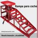 Rampa gato hidráulico para reparación de automóvil de altura regulable