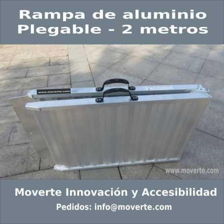 Rampa Aluminio Plegable de 2,05m.