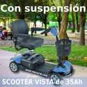 Scooter VISTA con suspensión