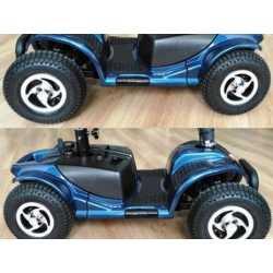 Realzado de rueda y ruedas neumaticas