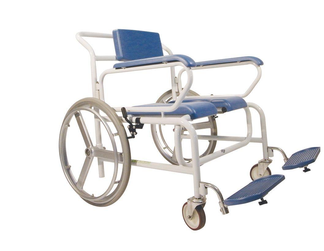 Sillas de ruedas con inodoro para la ducha y water sillas - Sillas para baneras para mayores ...
