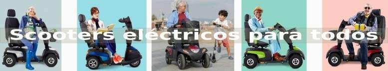 Scooter Eléctricos para discapacitados y personas mayores