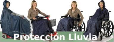 Ropa impermeable silla de ruedas